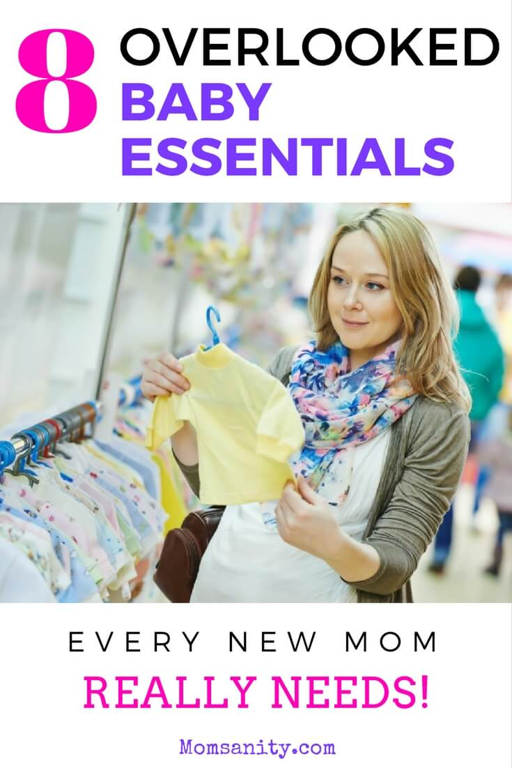 8 Overlooked Baby Essentials Every New Mom Needs to Own
