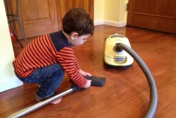 My Toddler and the Vacuum: A Love Story