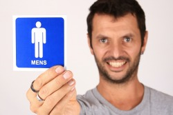 Should a 6-Year-Old Have to Use the Men's Room by Himself?