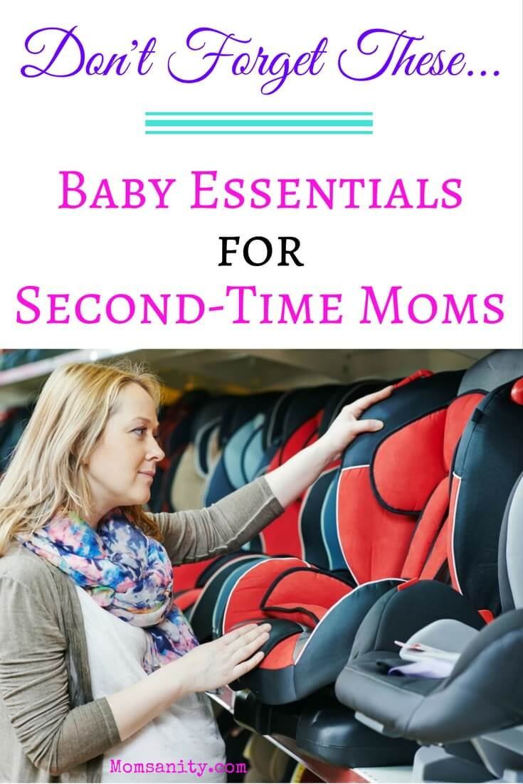 Second-time mom shopping for car seat