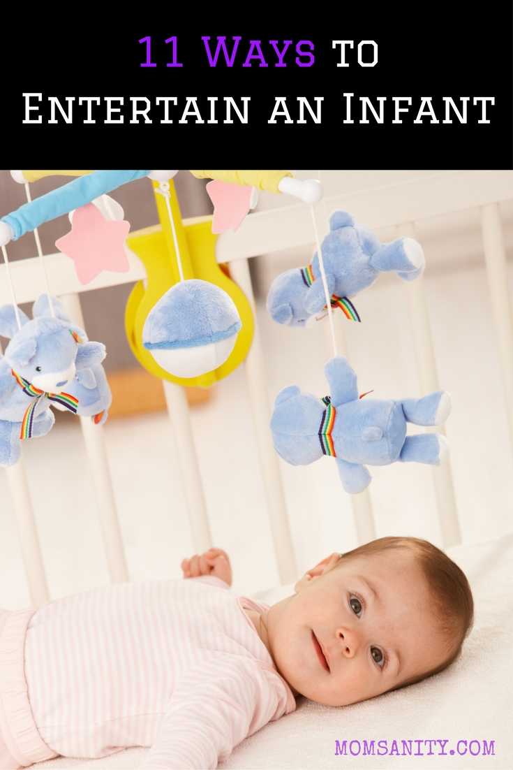 11 ways to entertain an infant pin