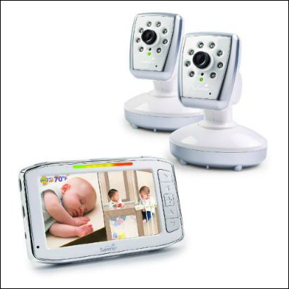 Summer Infant split-screen video monitor
