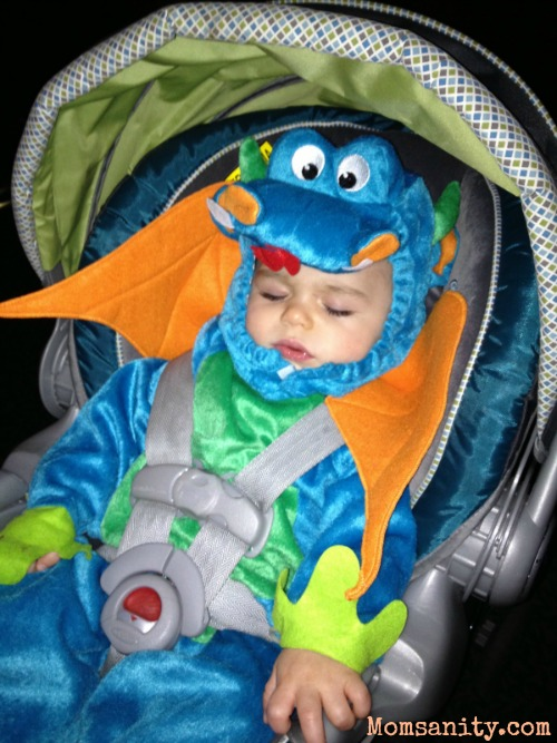 Baby's first Halloween costume - Momsanity