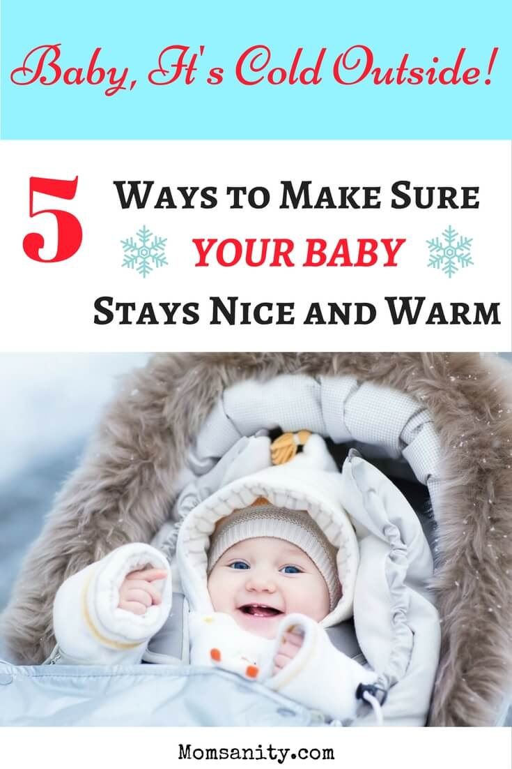 Keep your baby warm in winter when outside