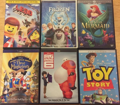 Movies for kids on a sick day