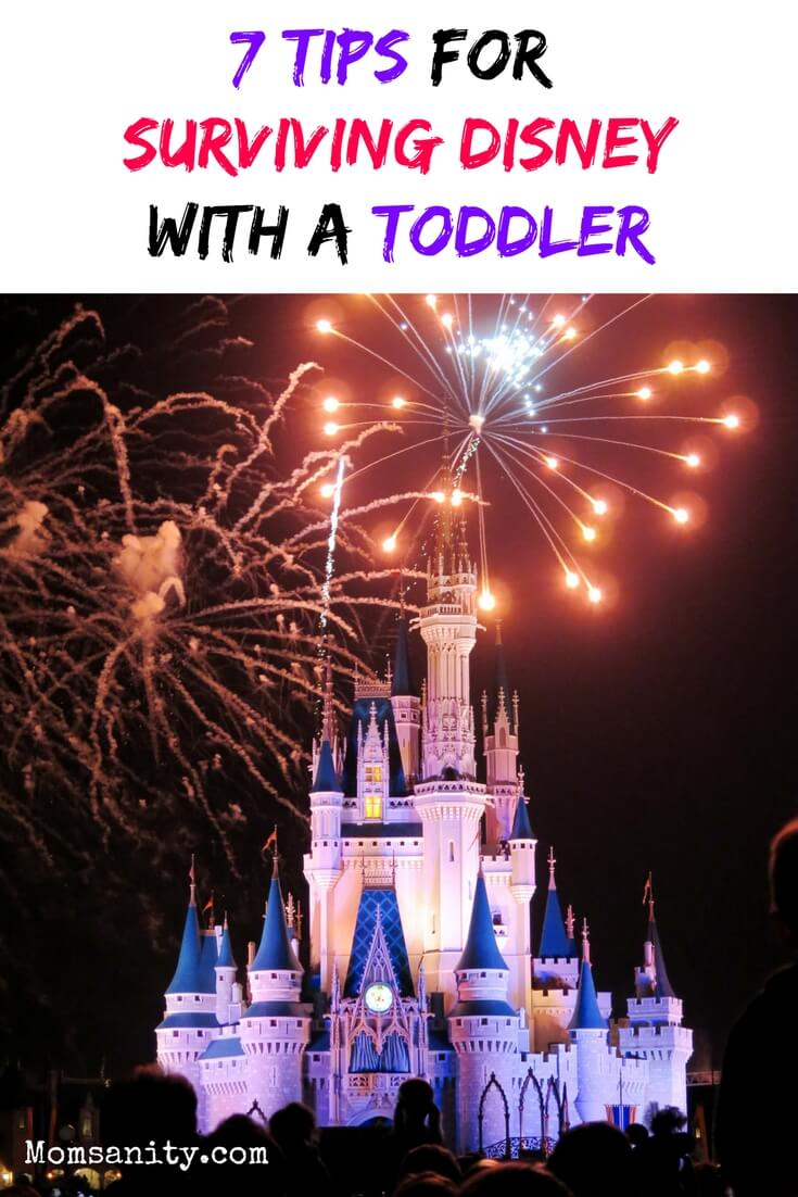How to survive Disney or any family vacation with a toddler