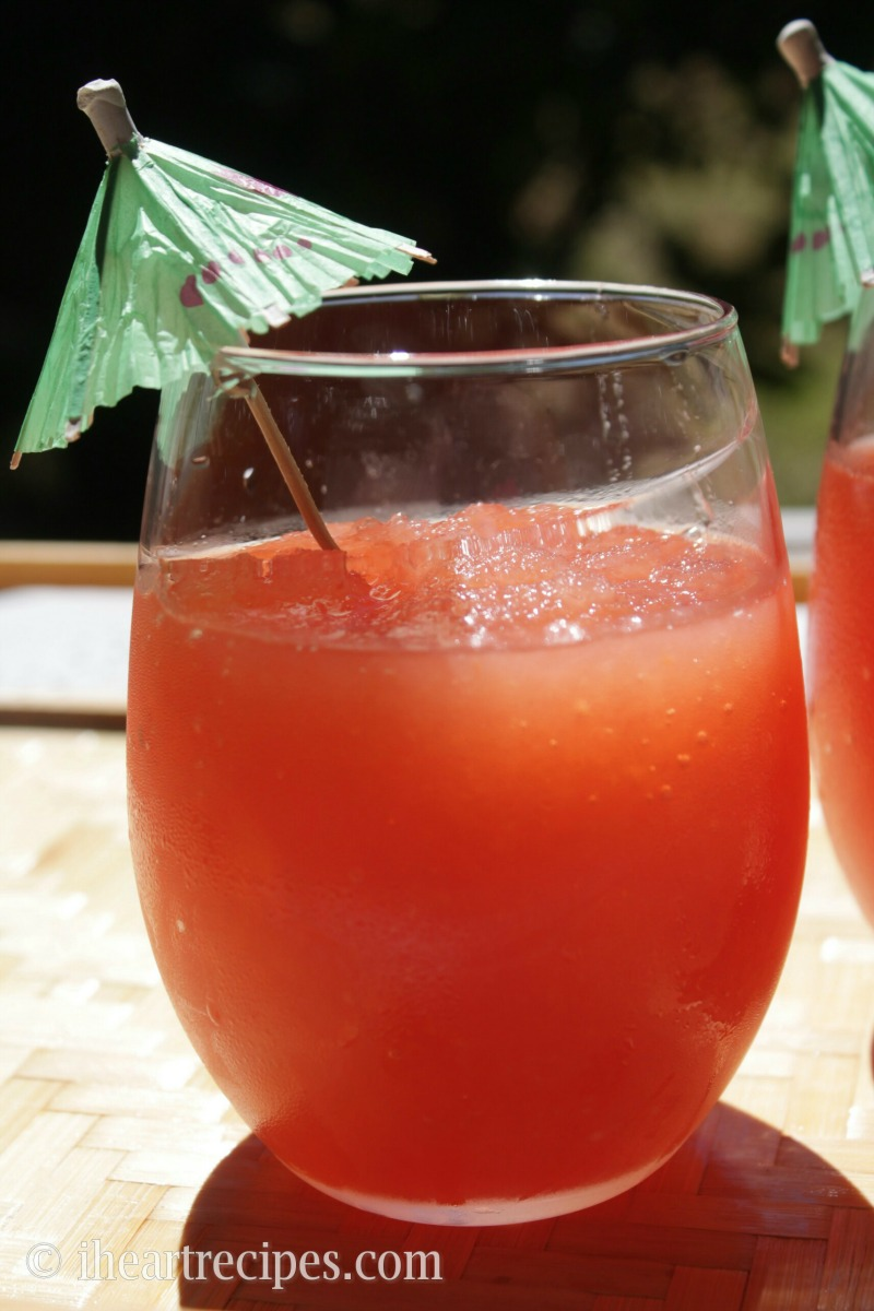 Staycation cocktails for moms - Watermelon Slushie