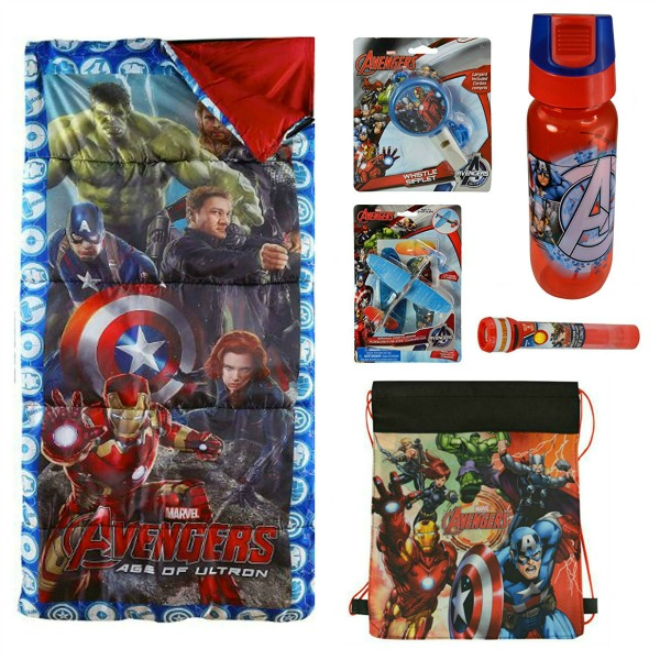 Avengers camping set for staycation
