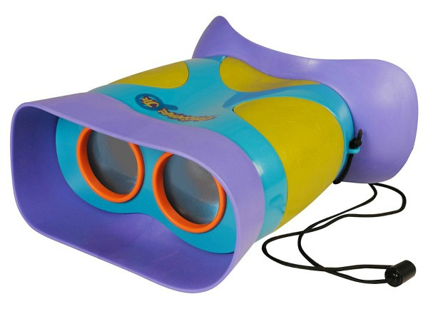 Kids' binoculars for staycation campout