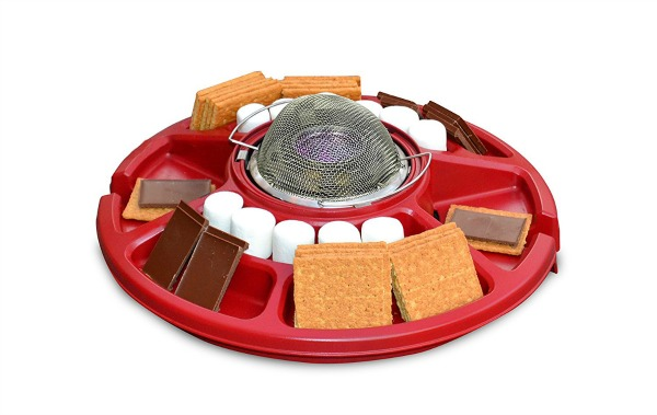 S'mores Maker for a staycation campout