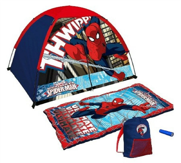 Spider-Man camping set for your staycation