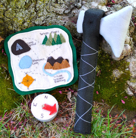 Imaginative play camping gear for your staycation