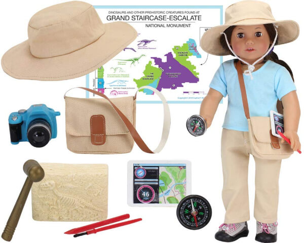 Paleontologist Doll Set