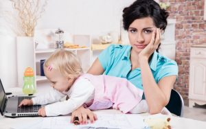 An Hour in the Life of a Work-at-Home Mom